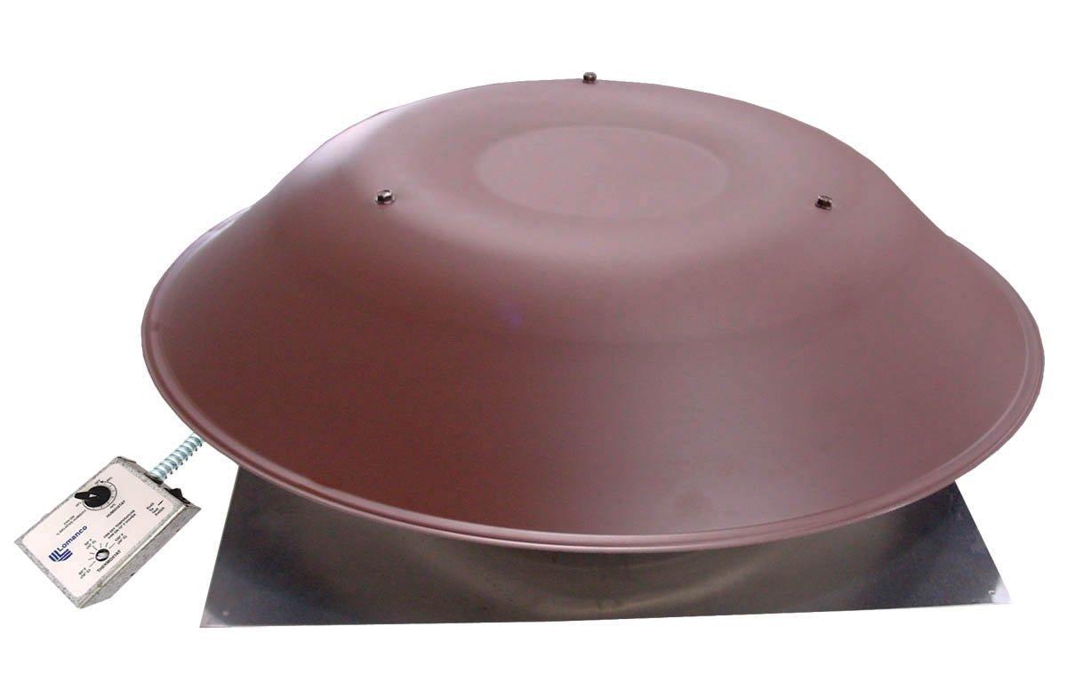 Lomanco 2000 BROWN Power Roof Ventilator