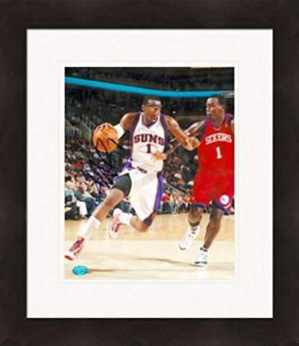 Amar'e Stoudemire Signed Photograph - Amare 8x10 Image #2 Matted & Framed - Autographed NBA Photos