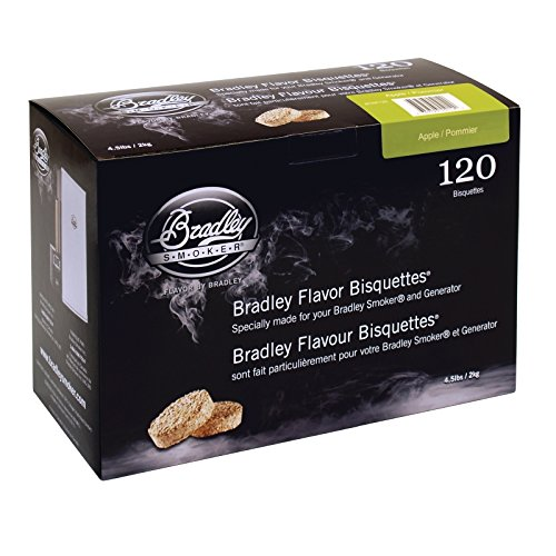 Bradley Apple Bisquettes 120 pack 210(H) x 140(W) x 310(D)mm