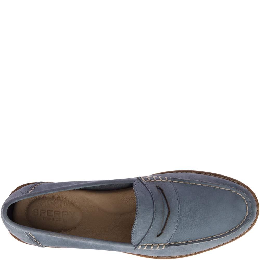 Sperry Top-Sider Seaport Penny Loafer Women 6 Slate Blue