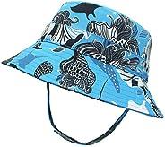 Happy Cherry Kids Bucket Sun Hat UV Sun Protection UPF 50+ Caps Summer Play Hat Hiking Cycling 5-10T