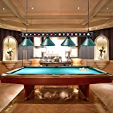 "Wellmet Pool Table Light, 70""4 Lights Hanging"