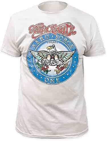 Aerosmith Aero Force Men's White Short Sleeve Tee