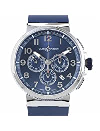 Ulysse Nardin Marine Chronograph automatic-self-wind mens Watch 1503-150-3/63 (Certified Pre-owned)