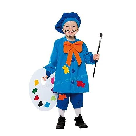 CARNAVAL QUEEN - Disfraz de Carnaval para niña, Talla 7/8 años ...