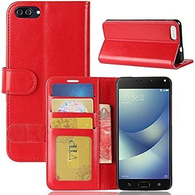 Amazon.com: ASUS Zenfone 4 MAX/ ZC520KL Case, Premium PU ...