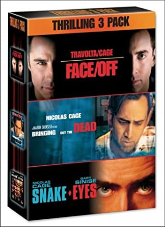 Face/Off/Snake Eyes/Bringing Out The Dead [DVD]: Amazon co