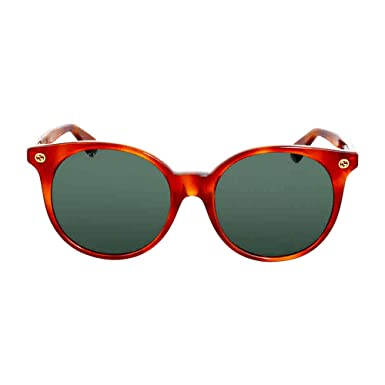 388e9f5b07 Image Unavailable. Image not available for. Color  Gucci Round Havana  Sunglasses