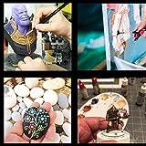 Detail Model Paint Brushes Set - 6 Pieces Miniature