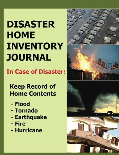 Disaster Home Inventory Journal: In case of emergency caused by fire, flood or worse everyone should have a disaster home inventory journal to keep a record of all damaged contents.