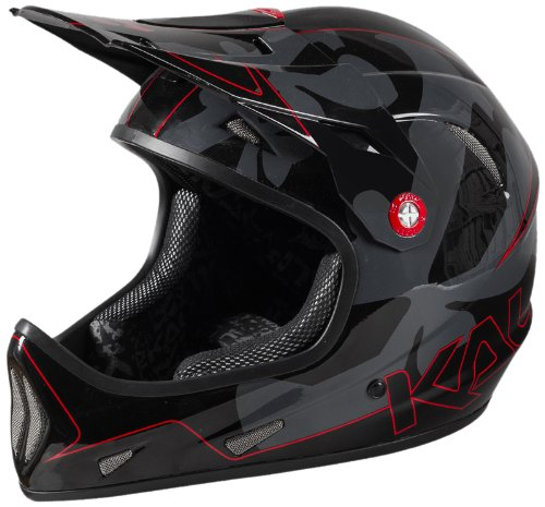 Kali Protectives 2014 Avatar Mountain Bike Downhill/BMX Helmet (Team Red - XL) by Kali Protectives
