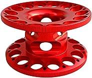 Homyl Aluminum Alloy Scuba Diving Finger Reel Guide Line Spool - Compact, Lightweight, Corrosion Resistant, Du