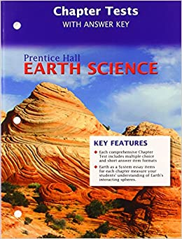 Amazon.com: PRENTICE HALL EARTH SCIENCE CHAPTER TESTS AND ANSWER ...