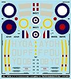A-72098 1/72 スーパーマリン スピットファイア Mk.V「イギリス連邦のエース」 MYK DESIGN [アシタのデカール]