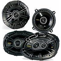 Kicker Dodge Ram Truck 1994-2011 speaker bundle - CS 6x9 coaxial speakers, and CS 5.25 coaxial speakers.
