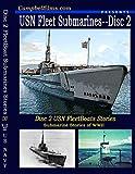US Navy Fleet Boat Submarines Gato Baleo Class WW2 Stories old Films DVD