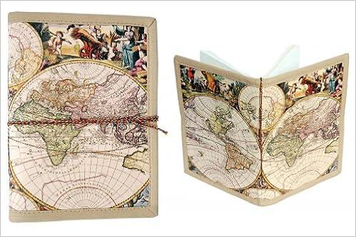 Pinnacle world map journal amazon pinnacle books gumiabroncs Image collections