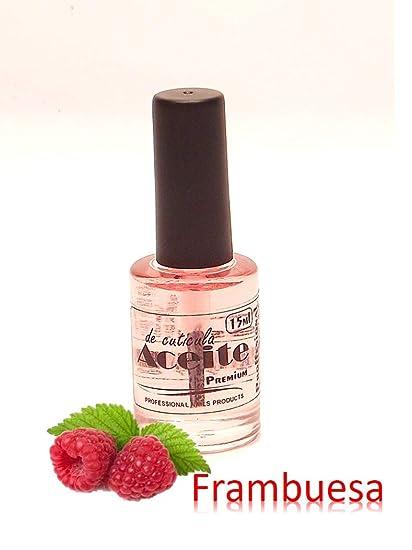 Aceite cuticulas -Aroma FRAMBUESA- 14ml con vitaminas