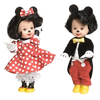 Barbie Disney Tommy & Kelly Dressed As Mickey & Minnie Collector Edition (2002): Toys & Games