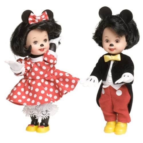 Disney Barbie Tommy And Kelly Dressed As Mickey And Minnie Collector Edition 2002