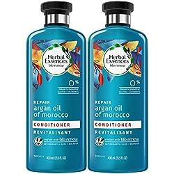 Herbal Essences Biorenew Argan Oil of Morocco Repair Conditioner, 13.5 FL OZ (2 Count)
