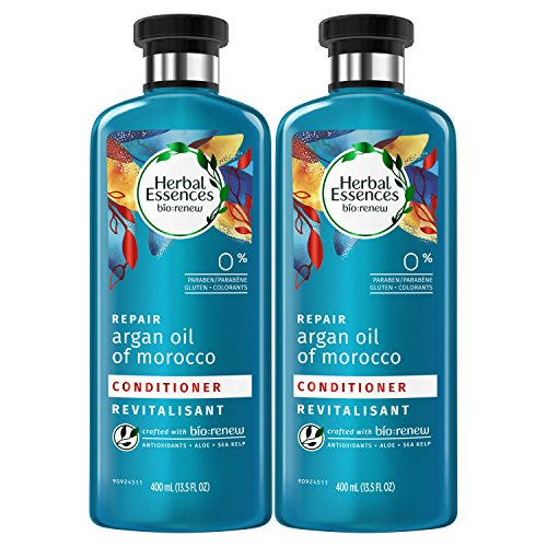 Herbal Essences Bio:renew Argan Oil of Morocco Conditioner, 13.5 Fluid Ounces Paraben Free (Pack of 2)