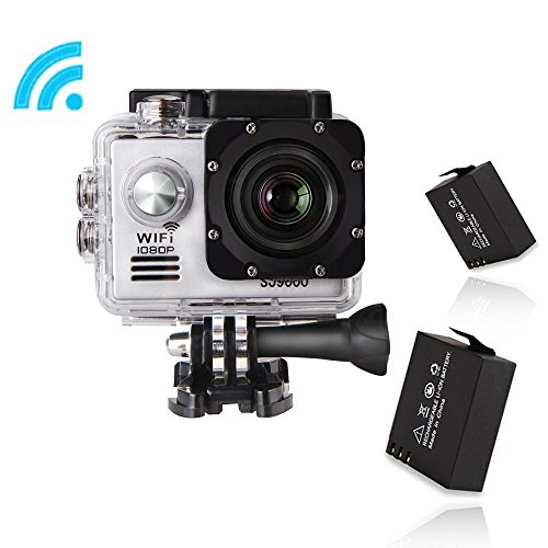 GBB Waterproof Wide Angle Rechargeable Accessories Silver product image