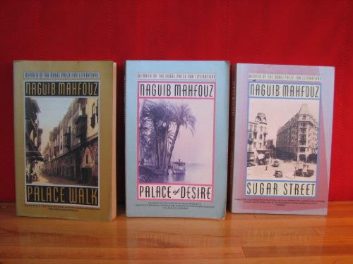 The Cairo Trilogy Complete 3 Volume Paperback Set (Palace Walk (Cairo Trilogy 1), Palace of Desire (Cairo Trilogy 2), Sugar Street (Cairo Trilogy 3))