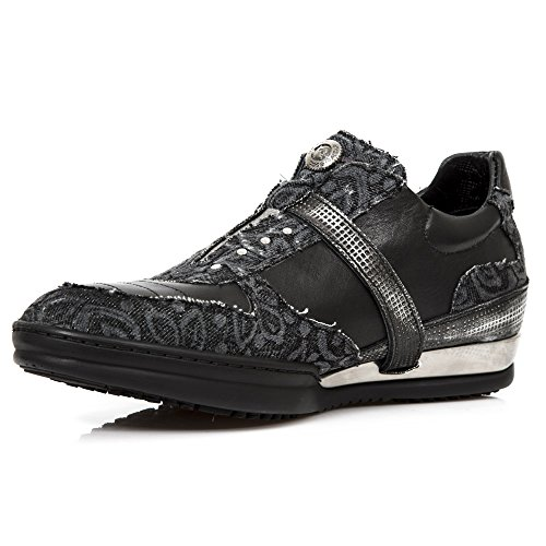 New Rock M Hy031 S7, Espadrillas Uomo Black
