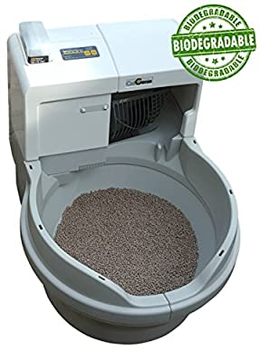 Purrfect Pellets Replacement Granules for Popular Automatic Flushing and Washing Cat Box Genie by Purrfect Pellets