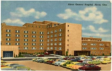 Amazon com: Photo Reprint Akron General Hospital, Akron