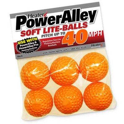 Heater Sports PowerAlley Soft Lite-Balls (6 Pack)