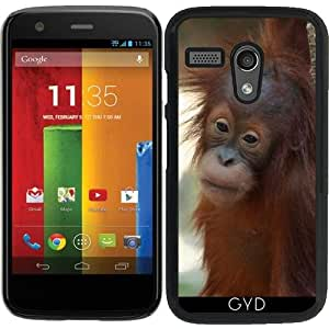Funda para Motorola Moto G (Generation 1) - Orang_utan_2014_0901 by JAMFoto