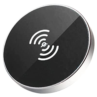 Wireless Charger,AutumnFall® New Qi Car Wireless Charger Charging Pad Magnetic Stand For Samsung S7/S7 Edge (Black)