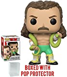 Funko Pop! WWE Jake 'The Snake' Roberts Vinyl Figure (Bundled with Pop Box Protector Case)