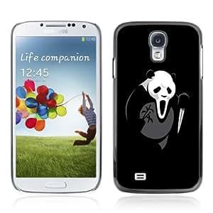 YOYOSHOP [Funny Scream Killer Panda Bear] Samsung Galaxy S4 Case