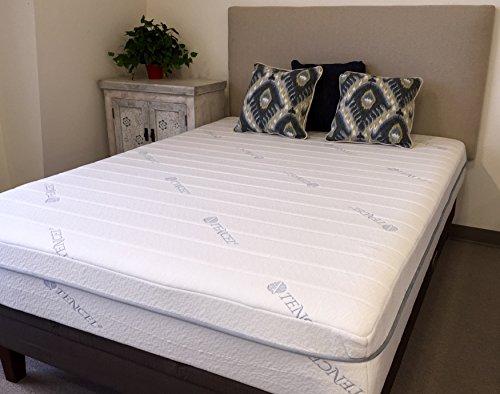 Environmentally Friendly Foam (11 Inch Designed To Sleep Tencel Infused Memory Foam Mattress,)