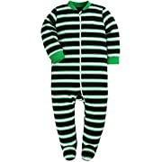 Baby Cotton Cartoon Pajamas Front Zip Baby Girls and Boys Long Sleeve Romper