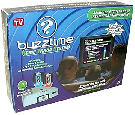 Buzztime Trivia Wireless Expansion Controller Remote Yellow Cadaco