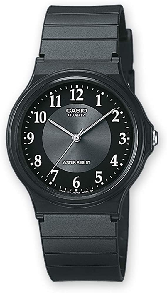 Casio Collection MQ-24-1B3LLEF, Reloj para Hombre, Negro