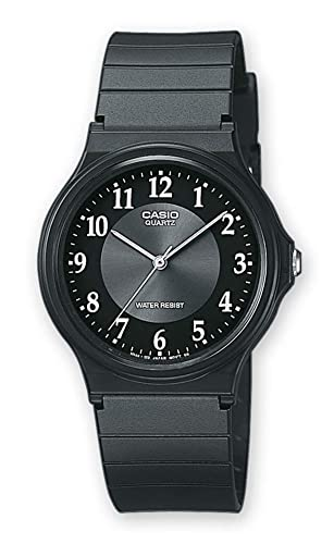 Casio Mens Analogue Quartz Watch with Resin Strap MQ-24-1B3LLEF