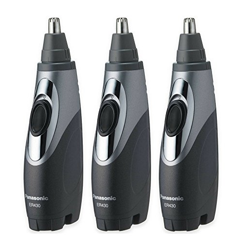 Panasonic ER430K Ear & Nose Trimmer with Vacuum Cleaning System, Men