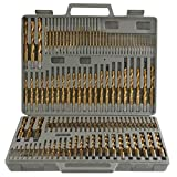 7 16 drill bit long - Power Tools 115pc Titanium Drill Bit Set w/ Index Case Number Letter Fractional $0 SHIPPING!