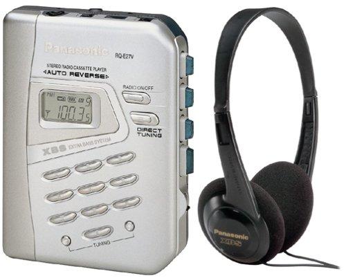 Panasonic RQ-E27V Portable Cassette Player