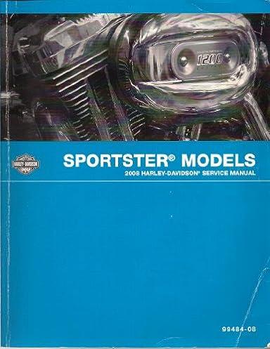 2008 sportster models service manual harley davidson motor company rh amazon com 2008 harley davidson nightster service manual 2013 Nightster