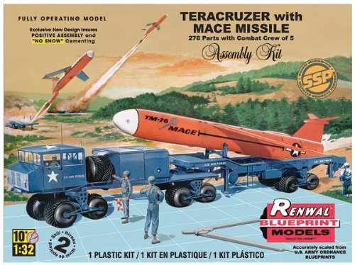 Revell Revell 1/32 Teracruzer with Missile