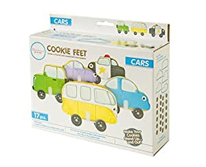 Bakelicious Car Cookie Feet, Multicolored