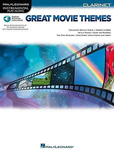 Instrumental Pack - Great Movie Themes: for Clarinet Instrumental Play-Along Pack (Hal Leonard Instrumental Play Along)