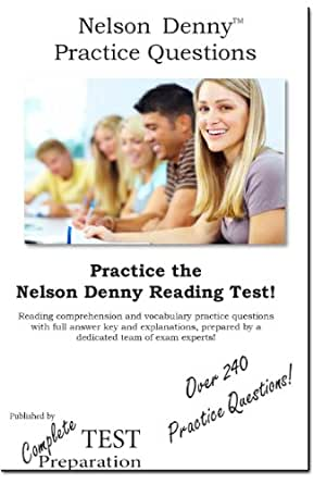 Amazon.com: Nelson Denny Practice Test Questions - Nelson Denny