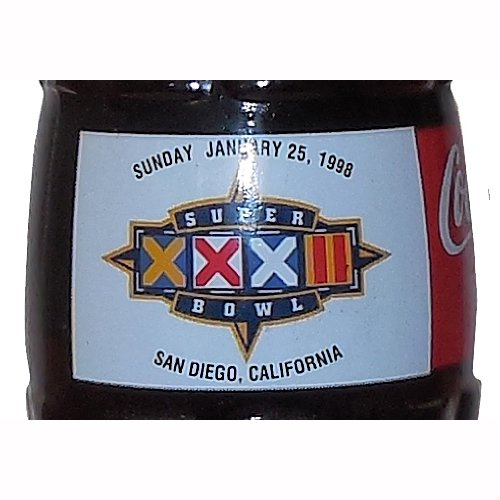 Super Bowl XXXII San Diego 1998 Coca-Cola Bottle from Coca-Cola